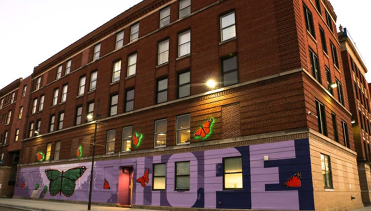 Norwegian American Hospital Donation- Themed Mural Unveiled