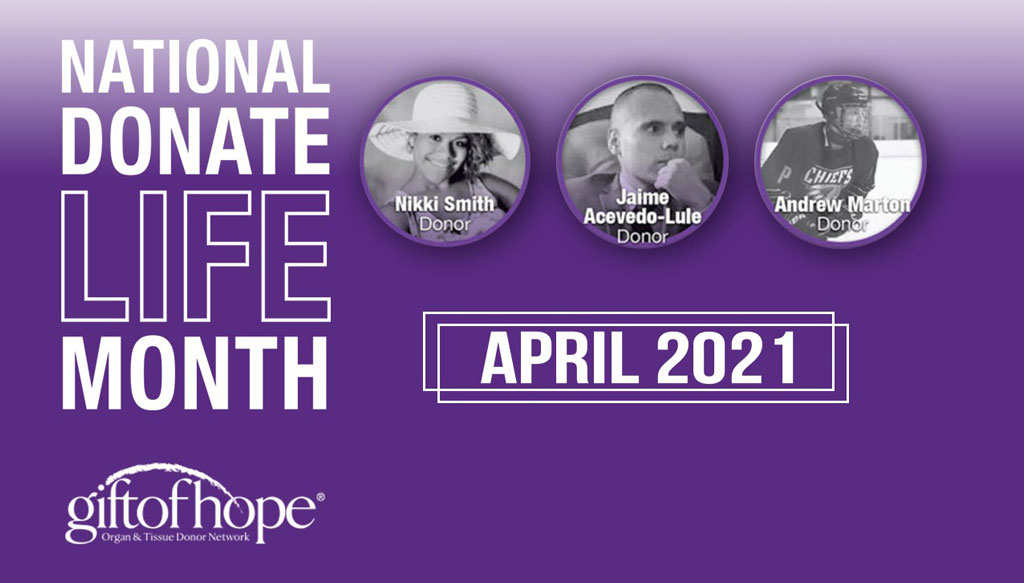 National-Donate-Life-Month