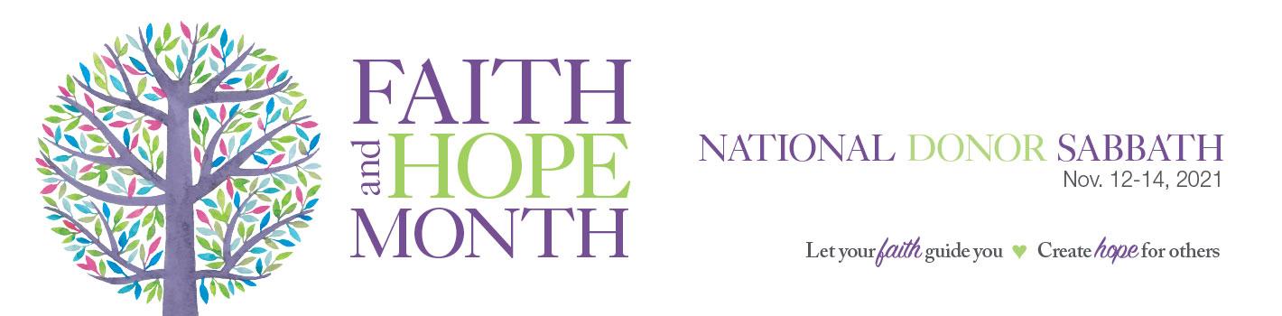 Faith & Hope Month